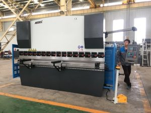 125ton sheet bending machine for stainless steel forming