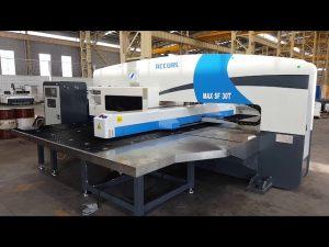 30 ton CNC servo hydraulic turret punch press