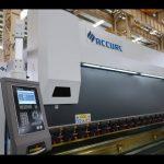 4 अक्ष सीएनसी प्रेस ब्रेक मिसिन 175 टन x 4000mm सीएनसी कुकुर मोटर