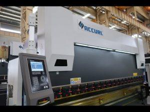4 Axis CNC press brake machine 175 ton x 4000mm CNC motorized crowning