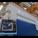 8 अक्ष सीएनसी हाइड्रोलिक प्रेस ब्रेक 110 टन 3200 मिमी