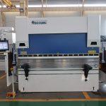 WC67K 500T / 4000mm सीसी हाइड्रोलिक स्टेनलेस स्टील प्रेस ब्रेक, उच्च दक्षता प्लेट शीट धातु झुकने मिसिन