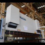हाइड्रोलिक एनसी प्रेस ब्रेक / पाना धातु झुकाउने मेसिन MB7-125Tx3200