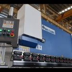 हाइड्रोलिक प्रेस ब्रेक प्लेट झुकाव मेगावाट MB7 100T 3200mm