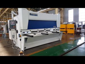 Master Variable Rake Guillotine Shearing Machine with ELGO P40T CNC System