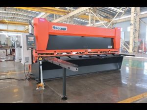 Master variable rake with CNC hydraulic guillotine shears MS8-10x4000mm