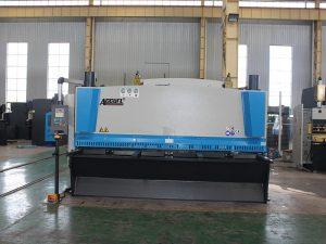 cnc hydraulic shearing machine price