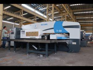 cnc hydraulic turret punch press for 30 ton cnc punching press machine