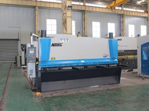 QC11y-8*3200 hydraulic shearing machine for sale with cnc control