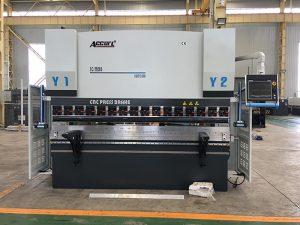 We67k cnc hydraulic iron sheet press brake