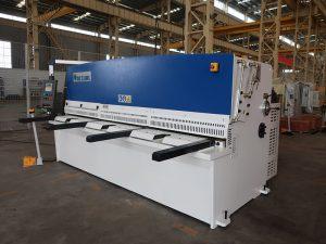 high cutting accuracy QC12Y 4x2500 sheet metal shearing machine steel plate hydraulic shearing machine