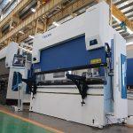 भारी शुल्क DELEM धातु प्लेट सीएनसी हाइड्रोलिक प्रेस ब्रेक मूल्य